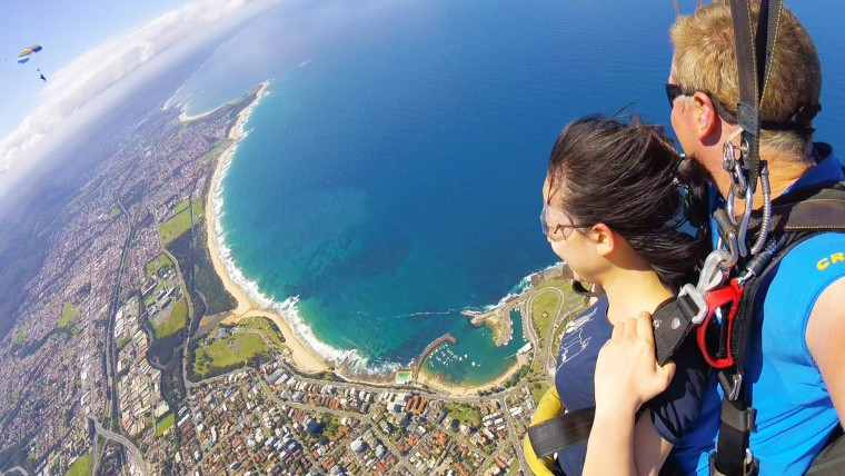 Day Trip – Skydiving Wollongong?>